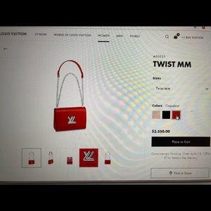 Louis Vuitton Bags - AUTHENTIC!!! BRAND NEW !! LV Twist MM